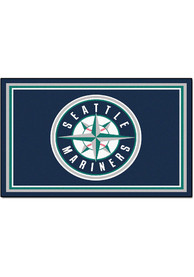 Seattle Mariners 4x6 Interior Rug