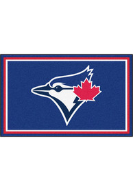 Toronto Blue Jays 4x6 Interior Rug