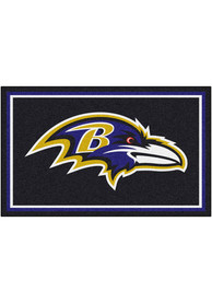 Baltimore Ravens 4x6 Interior Rug