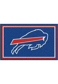 Buffalo Bills 4x6 Interior Rug