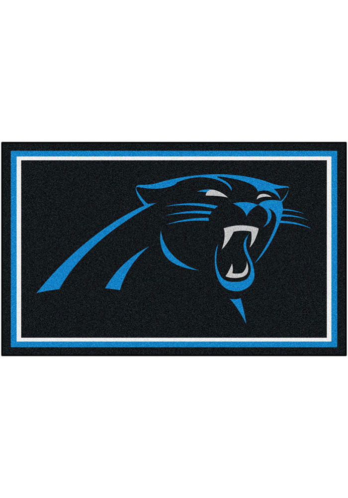 Carolina Panthers 4x6 Interior Rug - Image 1