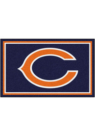 Chicago Bears 4x6 Interior Rug