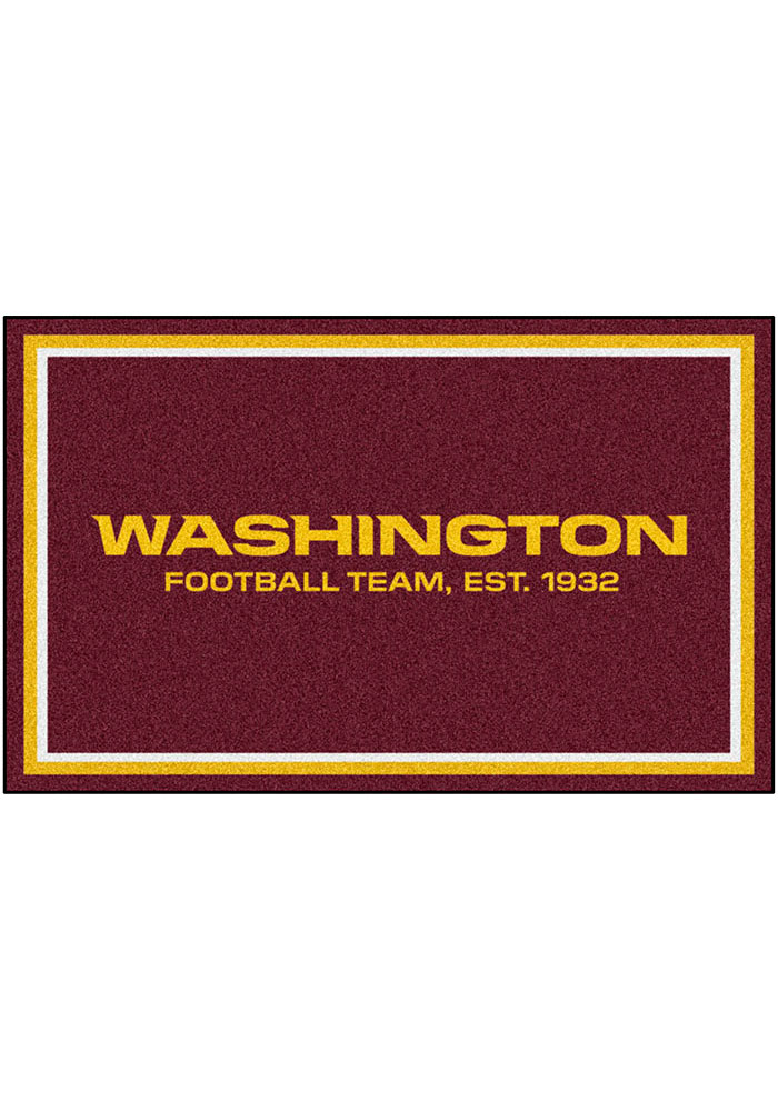 Washington Redskins 4x6 Interior Rug - Image 1
