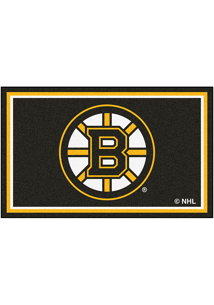Boston Bruins 4x6 Interior Rug - Image 1