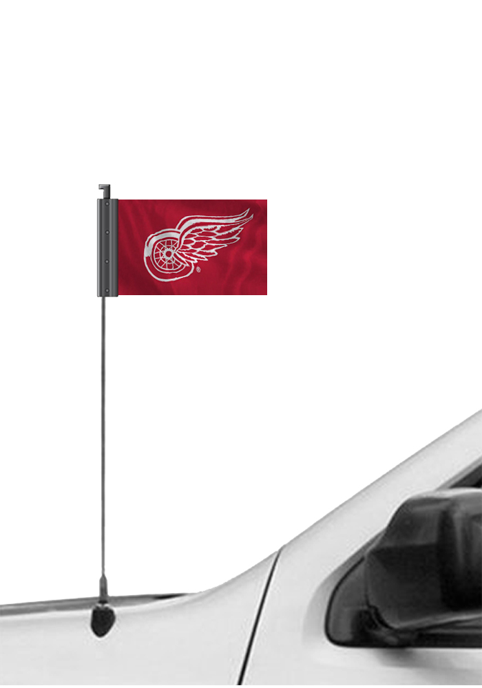 Detroit Red Wings Red Antennae Flag