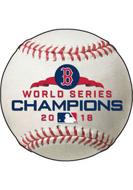 Boston Red Sox 2018 World Series Champions Baseball Interior Rug