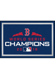 Boston Red Sox 2018 World Series Champions 5x8 Interior Rug