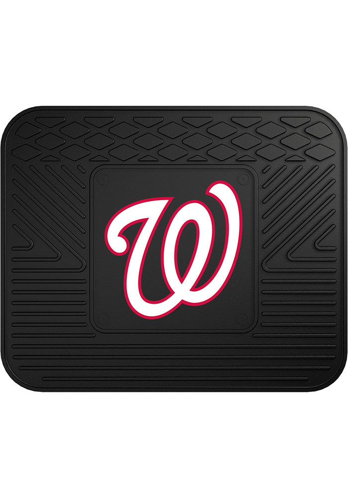 Sports Licensing Solutions Washington Nationals 14x17 Utility Car Mat - Black - Image 1