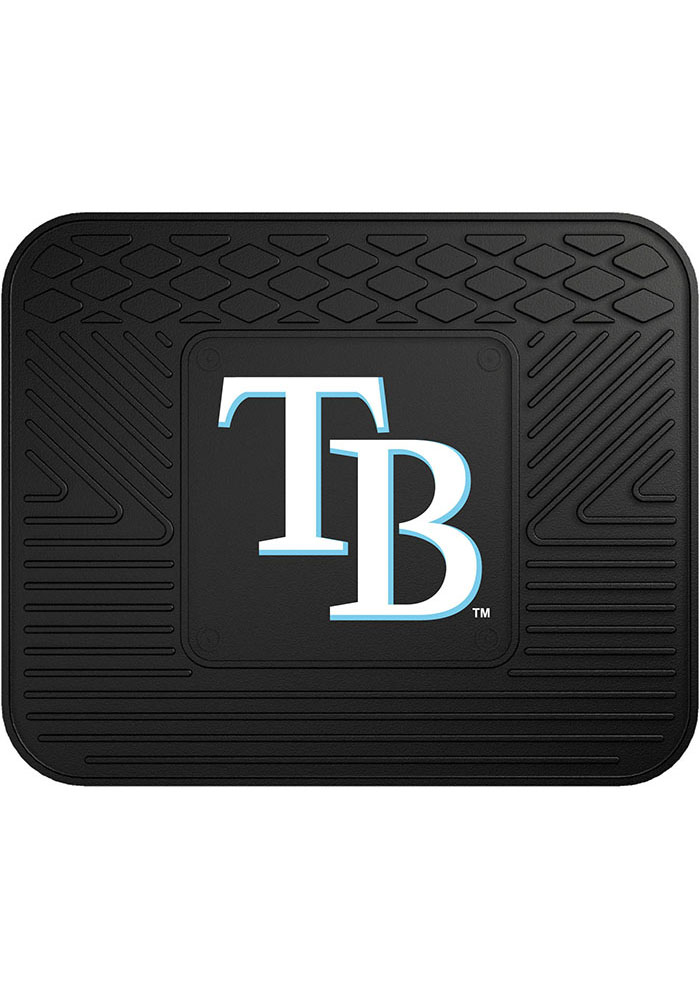 Sports Licensing Solutions Tampa Bay Rays 14x17 Utility Car Mat - Black - Image 1