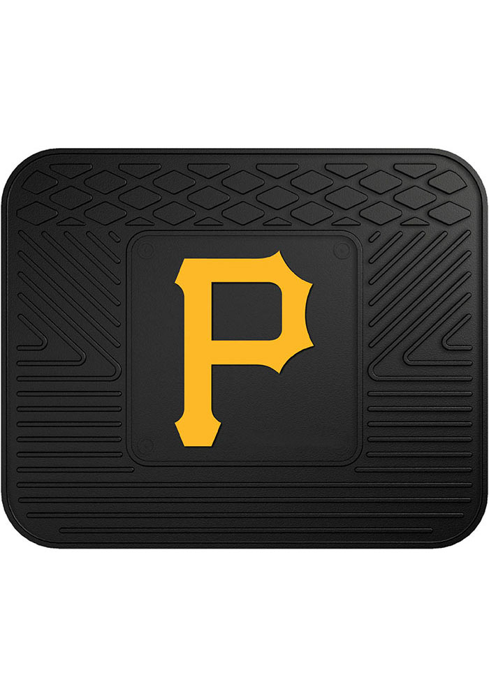 Sports Licensing Solutions Pittsburgh Pirates 14x17 Utility Car Mat - Black - Image 1