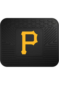 Sports Licensing Solutions Pittsburgh Pirates 14x17 Utility Car Mat - Black