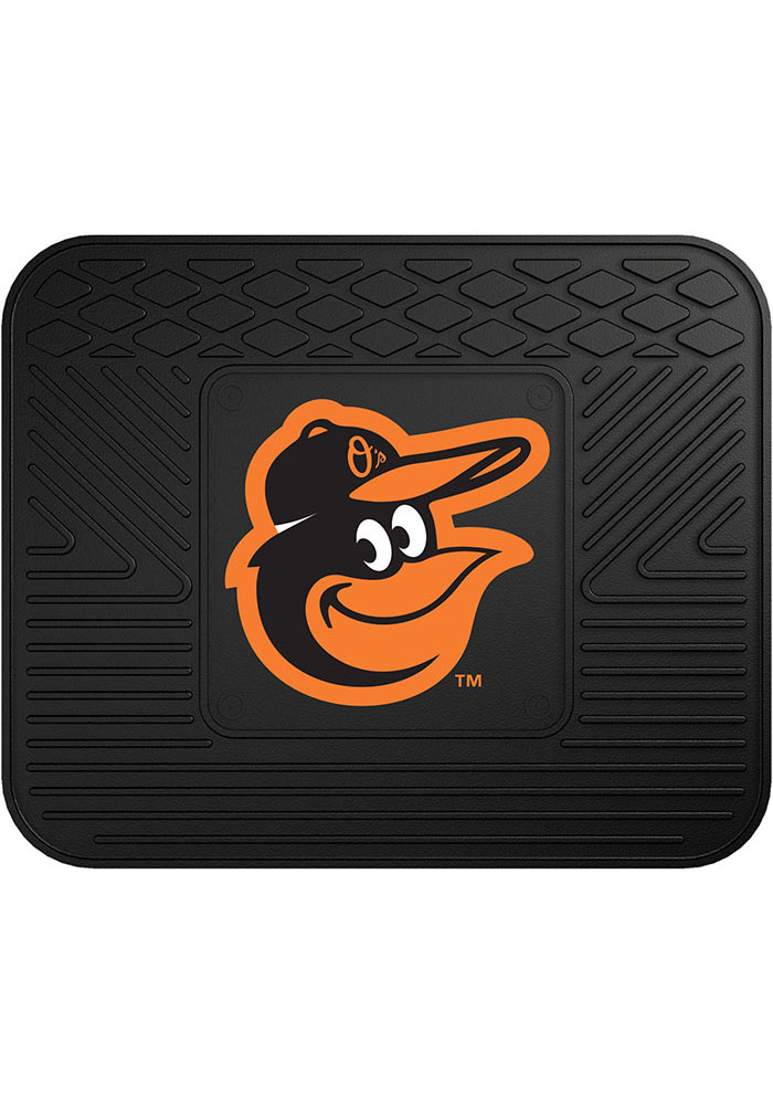 Sports Licensing Solutions Baltimore Orioles 14x17 Utility Car Mat - Black - Image 1