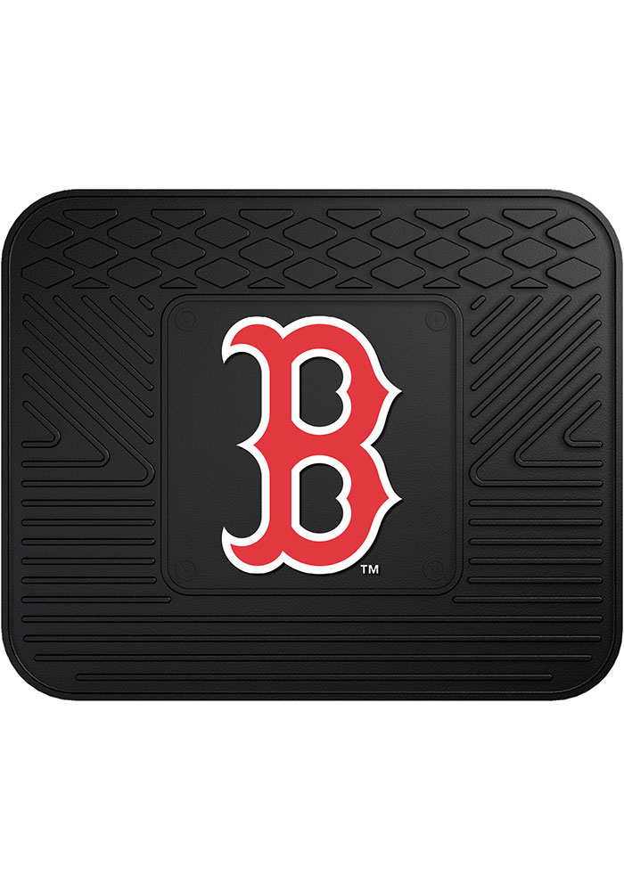Sports Licensing Solutions Boston Red Sox 14x17 Utility Car Mat - Black - Image 1
