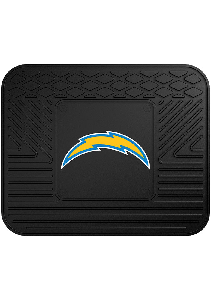 Sports Licensing Solutions Los Angeles Chargers 14x17 Utility Car Mat - Black - Image 1