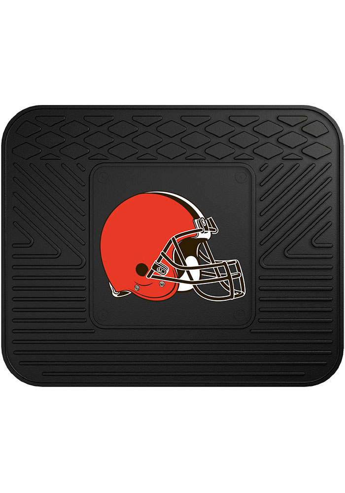 Sports Licensing Solutions Cleveland Browns 14x17 Utility Car Mat - Black - Image 1