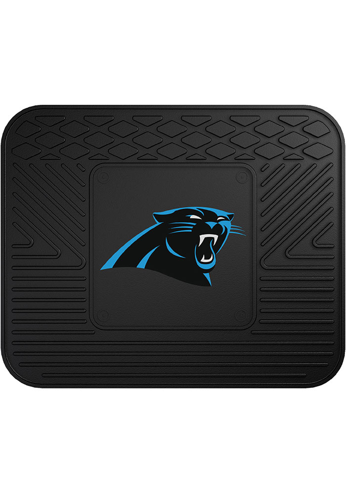 Sports Licensing Solutions Carolina Panthers 14x17 Utility Car Mat - Black - Image 1