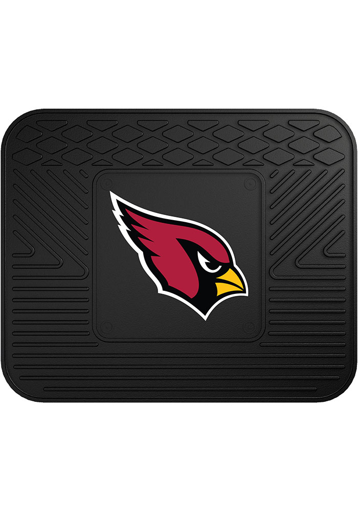 Sports Licensing Solutions Arizona Cardinals 14x17 Utility Car Mat - Black - Image 1