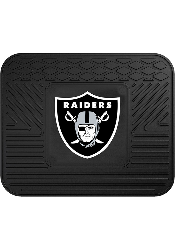 Sports Licensing Solutions Oakland Raiders 14x17 Utility Car Mat - Black - Image 1