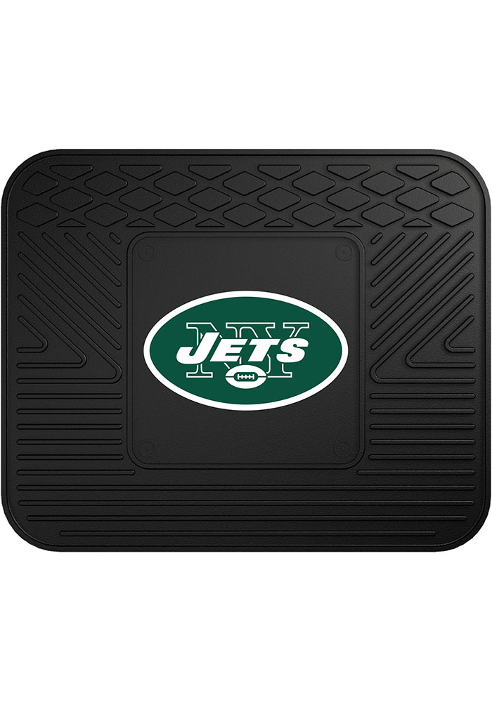 Sports Licensing Solutions New York Jets 14x17 Utility Car Mat - Black - Image 1