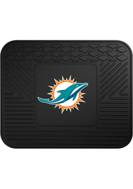 Sports Licensing Solutions Miami Dolphins 14x17 Utility Car Mat - Black