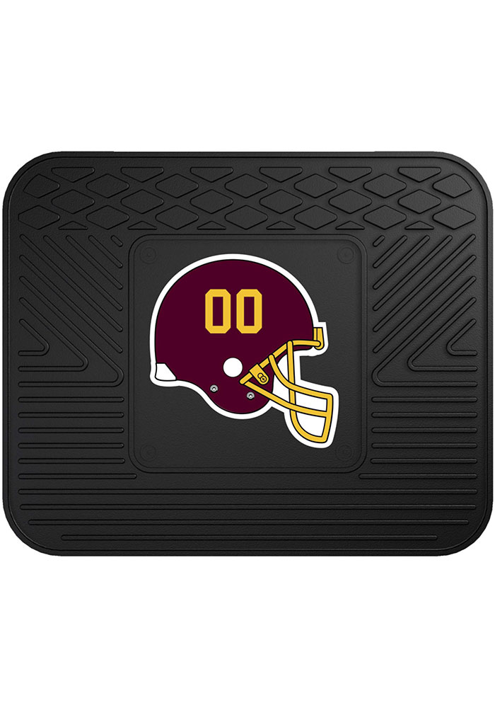 Sports Licensing Solutions Washington Redskins 14x17 Utility Car Mat - Black - Image 1