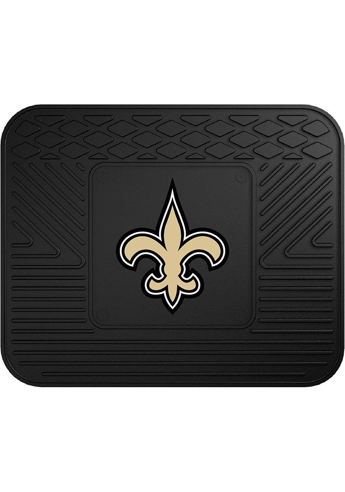 Sports Licensing Solutions New Orleans Saints 14x17 Utility Car Mat - Black - Image 1