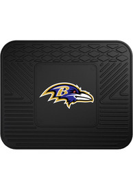 Sports Licensing Solutions Baltimore Ravens 14x17 Utility Car Mat - Black