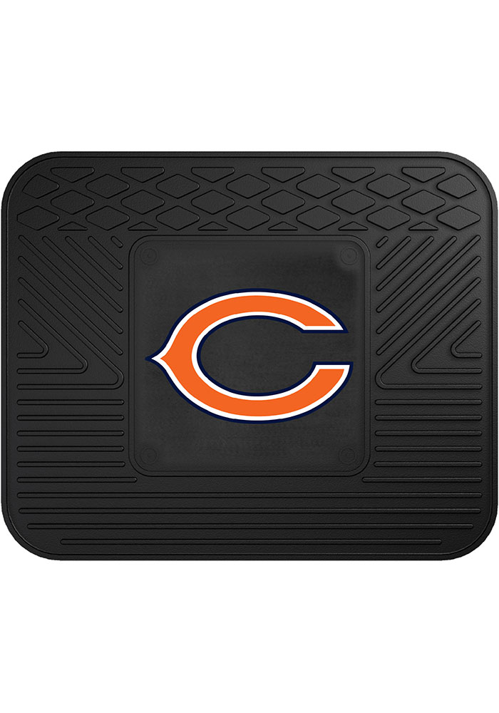 Sports Licensing Solutions Chicago Bears 14x17 Utility Car Mat - Black - Image 1