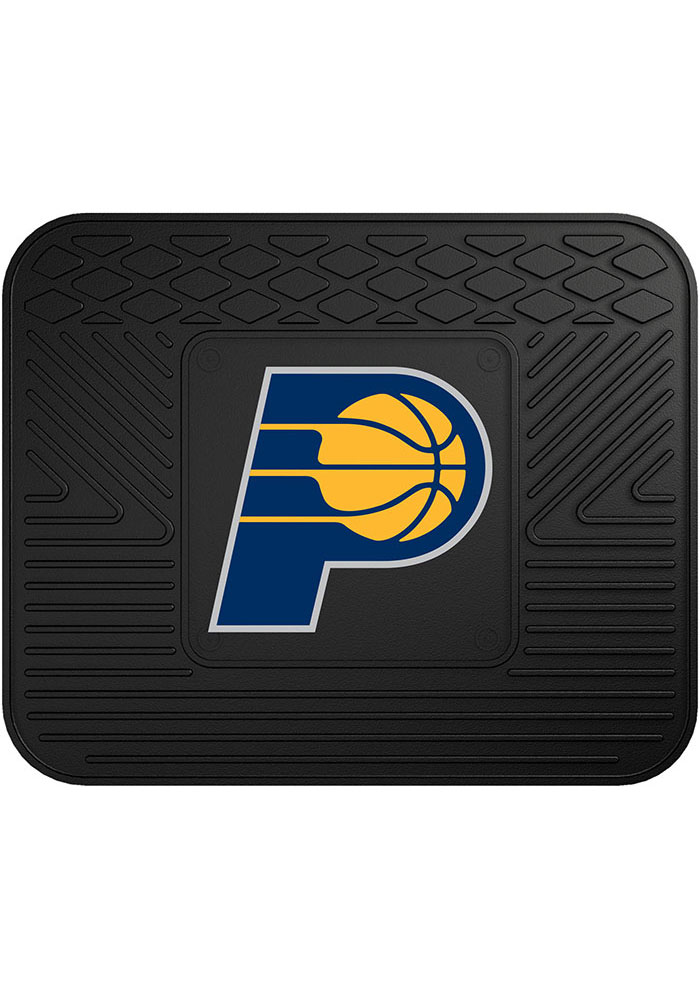 Sports Licensing Solutions Indiana Pacers 14x17 Utility Car Mat - Black - Image 1