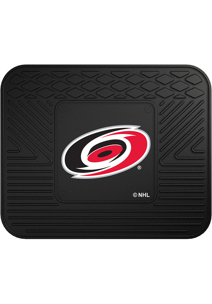 Sports Licensing Solutions Carolina Hurricanes 14x17 Utility Car Mat - Black - Image 1