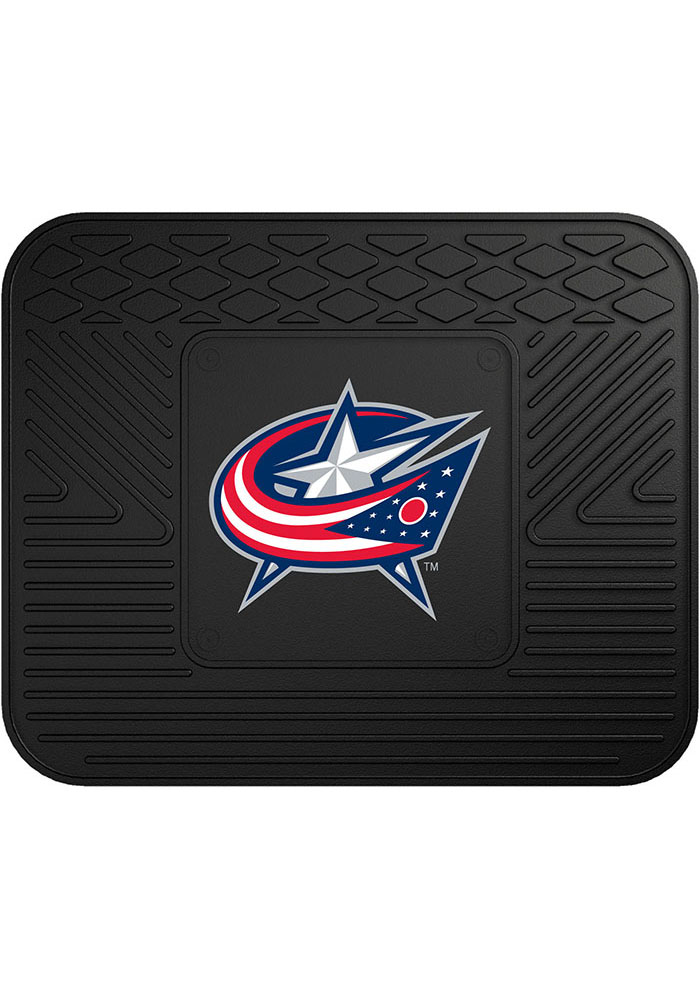 Sports Licensing Solutions Columbus Blue Jackets 14x17 Utility Car Mat - Black - Image 1