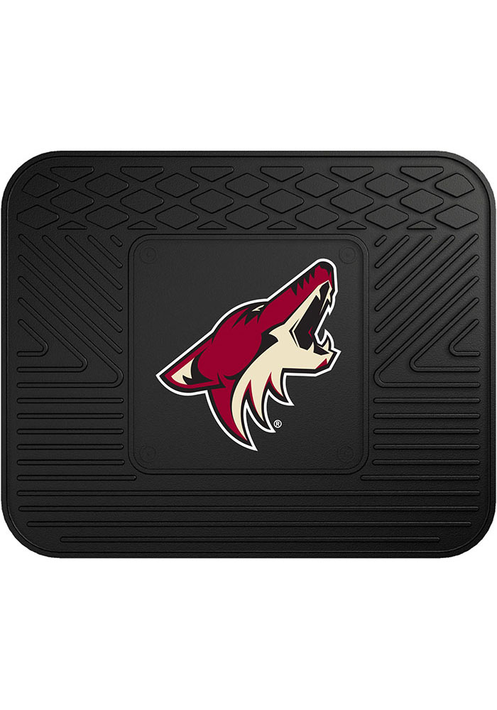 Sports Licensing Solutions Arizona Coyotes 14x17 Utility Car Mat - Black - Image 1