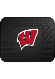 Sports Licensing Solutions Wisconsin Badgers 14x17 Utility Car Mat - Black