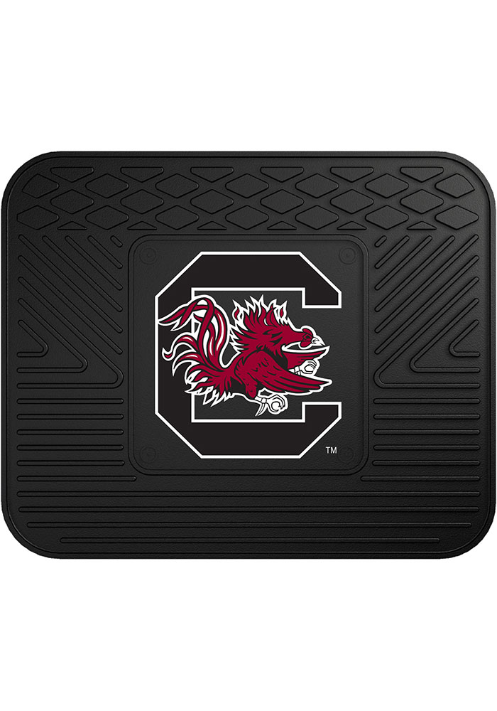 Sports Licensing Solutions South Carolina Gamecocks 14x17 Utility Car Mat - Black - Image 1