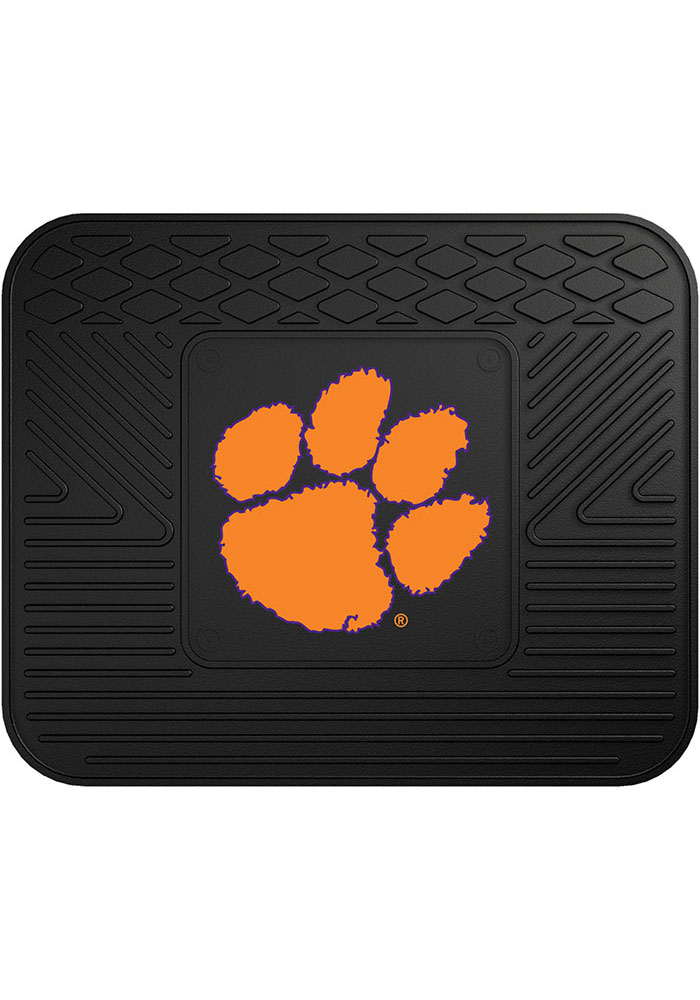 Sports Licensing Solutions Clemson Tigers 14x17 Utility Car Mat - Black - Image 1