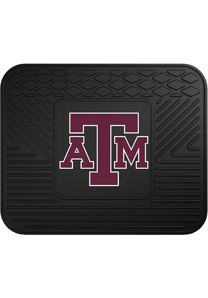 Sports Licensing Solutions Texas A&M Aggies 14x17 Utility Car Mat - Black - Image 1