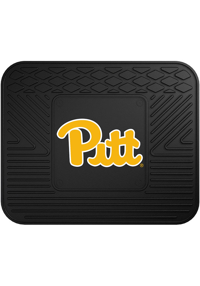 Sports Licensing Solutions Pitt Panthers 14x17 Utility Car Mat - Black - Image 1