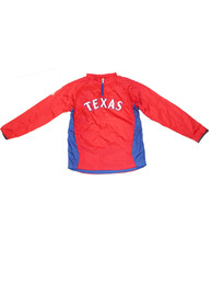 Texas Rangers Youth Triple Peak Light Weight Jacket - Blue