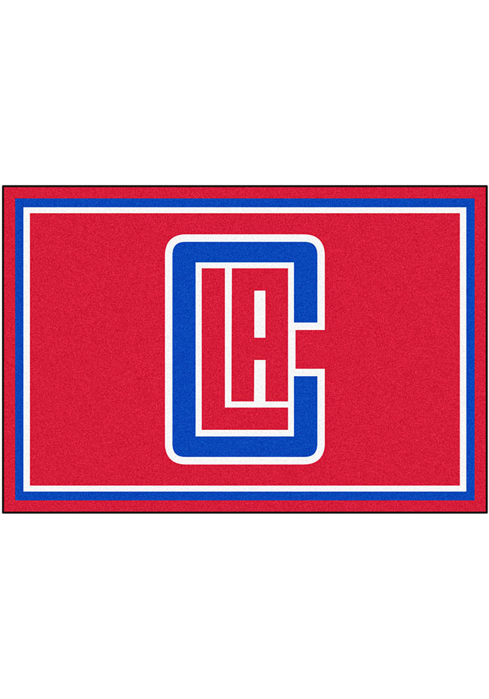 Los Angeles Clippers Team Logo Interior Rug - Image 1
