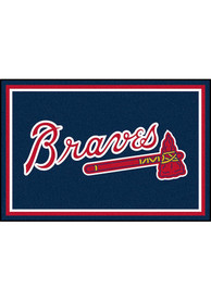 Atlanta Braves Team Logo Interior Rug