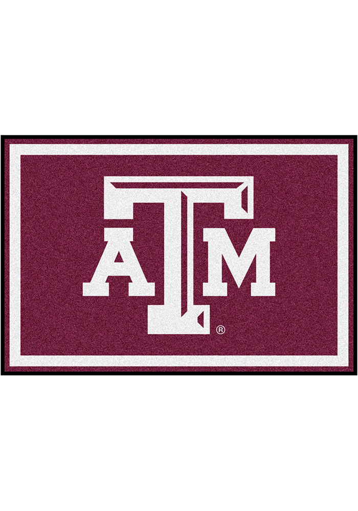 Texas A&M Aggies Team Logo Interior Rug - Image 1