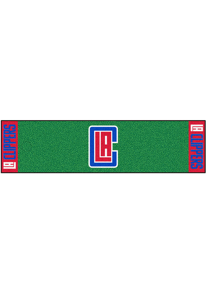 Los Angeles Clippers 18x72 Putting Green Runner Interior Rug - Image 1