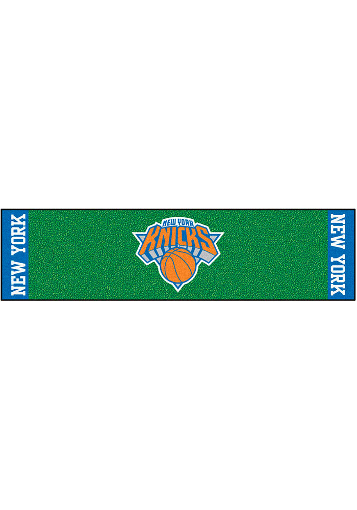 New York Knicks 18x72 Putting Green Runner Interior Rug - Image 1