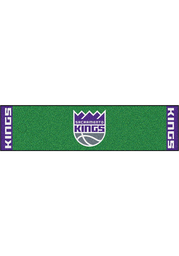 Sacramento Kings 18x72 Putting Green Runner Interior Rug - Image 1