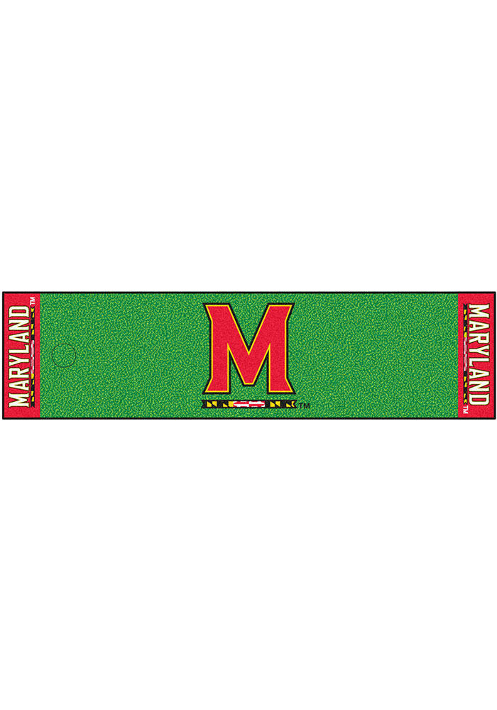 Maryland Terrapins 18x72 Putting Green Runner Interior Rug - Image 1