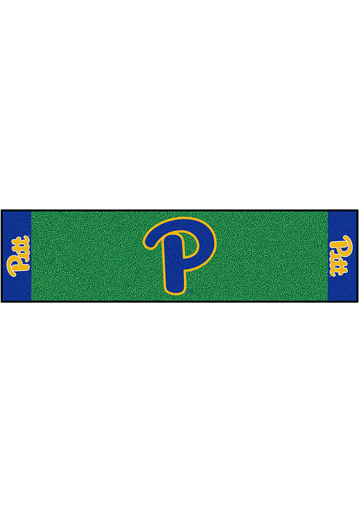 Pitt Panthers 18x72 Putting Green Runner Interior Rug - Image 1