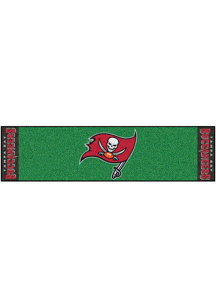 Tampa Bay Buccaneers 18x72 Putting Green Runner Interior Rug - Image 1