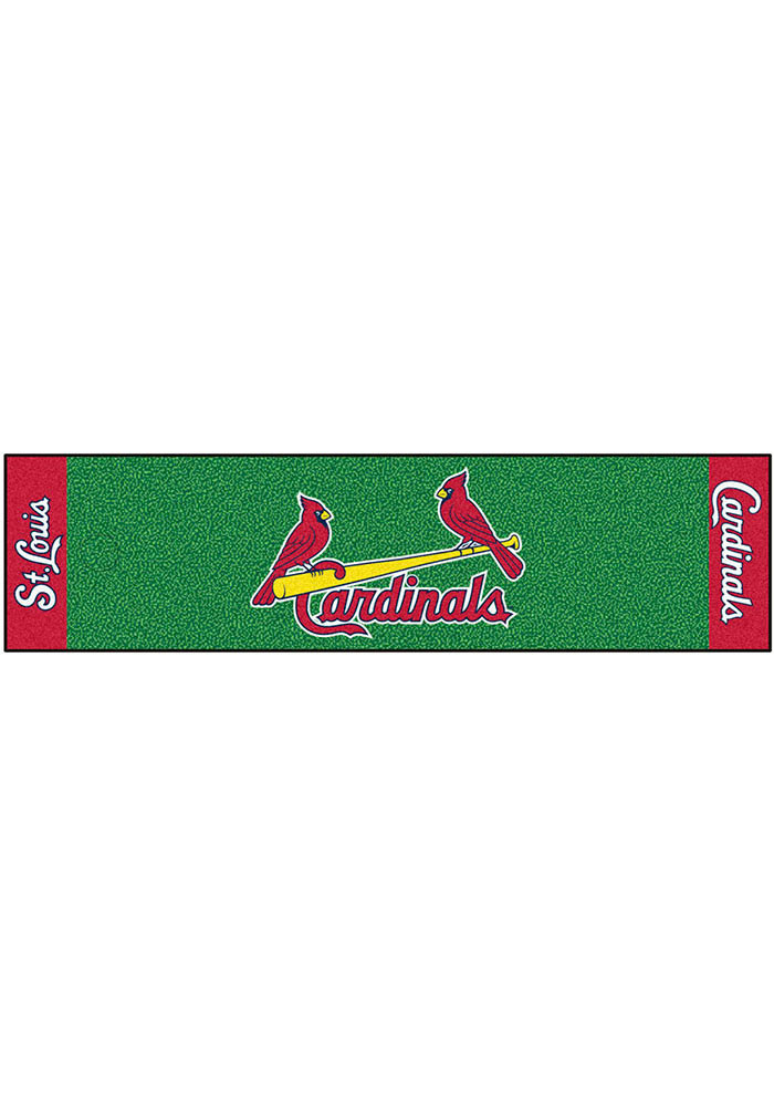 St Louis Cardinals 18x72 Putting Green Runner Interior Rug - Image 1