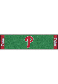 Philadelphia Phillies 18x72 Putting Green Runner Interior Rug