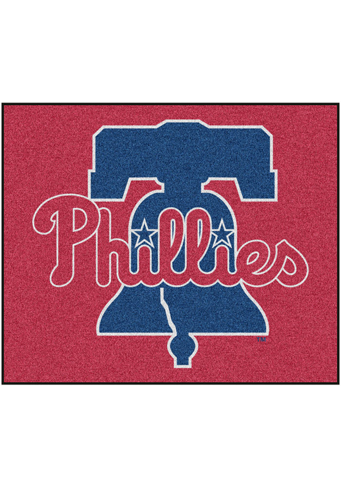Philadelphia Phillies 60x72 Tailgater BBQ Grill Mat - Image 1